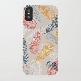 FeathersI iPhone Case