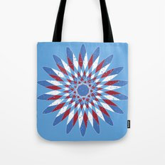 Distressed Kaleidoscope Tote Bag