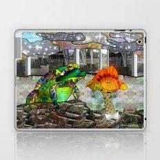 Doodlage 05 - Frog and Fungus   Laptop & iPad Skin
