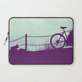 fence and bike Laptop Sleeve