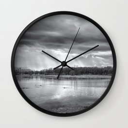 Birdland BW Wall Clock
