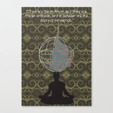 The Doors of Perception Canvas Print
