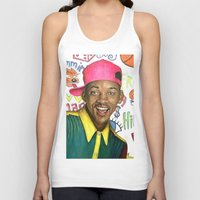 fresh prince Tank Tops featuring Fresh Prince of Bel Air - Will Smith by Heather Buchanan