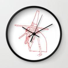 Happy Pilgrim Wall Clock