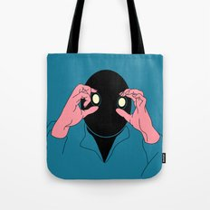 Staring is Scaring Tote Bag