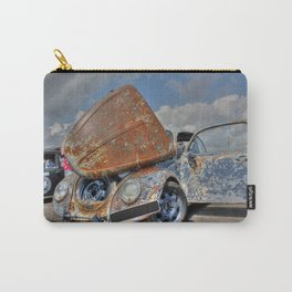 Stylish Rust Carry-All Pouch