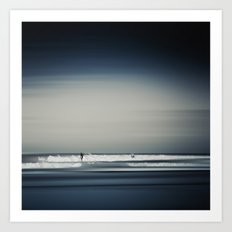 Sea and Surfer 16 Art Print