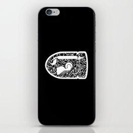 Bullet Bill #CrackedOutBadGuys iPhone Skin