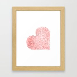 Heart (9) Framed Art Print