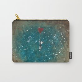 Morganne Flies Away Carry-All Pouch