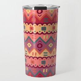 Ethnic native pattern Travel Mug