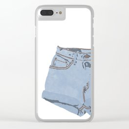 She Wears Short Shorts Clear iPhone Case