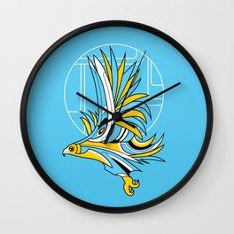Hawk Deco Wall Clock
