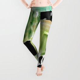 Garden Fern Abstract Leggings