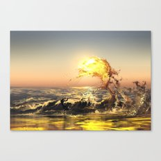 out of water Canvas Print