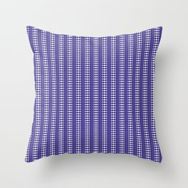 Moon Phases Pattern IV Throw Pillow