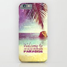 Welcome to Paradise - for iphone iPhone 6 Slim Case
