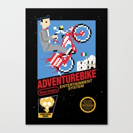 Adventurebike Canvas Print