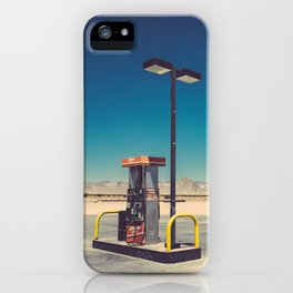 Gass pumps iPhone Case