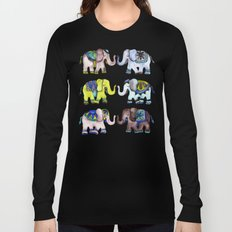 Elephant Collection – Cool Palette Long Sleeve T-shirt