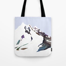 Mountains In The Cold Design Tote Bag