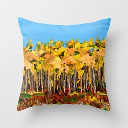 Wisconsin woods Throw Pillow