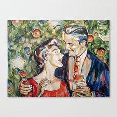 Mery christmas Canvas Print