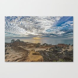 Broken Hill Sunset Canvas Print