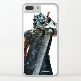Soldier Hero Clear iPhone Case