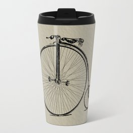 19th Century Bicycle Travel Mug