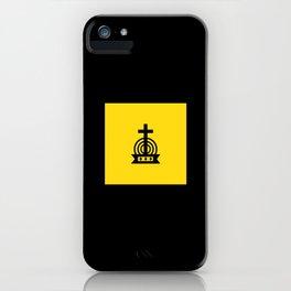 Henny Maestro - Gold on Black iPhone Case