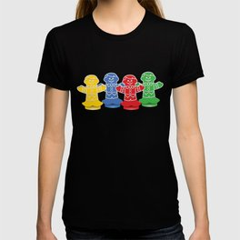 Candy Board Game Figures T-shirt