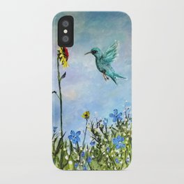 Sun Flower Day iPhone Case