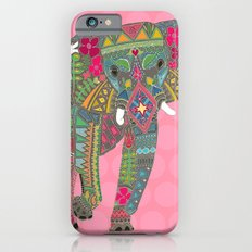 painted elephant pink Slim Case iPhone 6