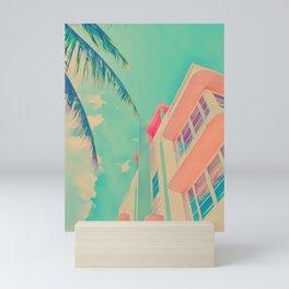 Miami White Mini Art Print