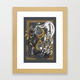 Time of Steam: The Night and The Day Framed Art Print