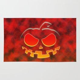 Screaming Pumpkin Rug