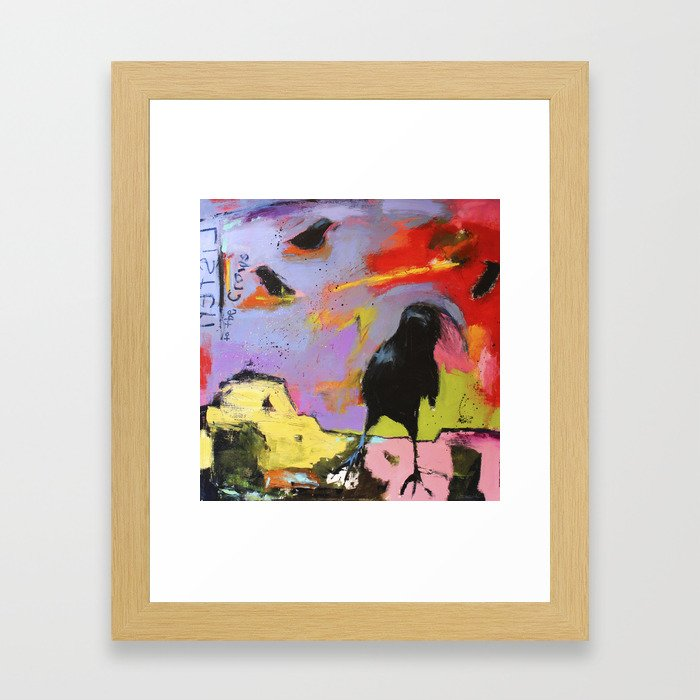 Listen to the Crows #2 Framed Art Print