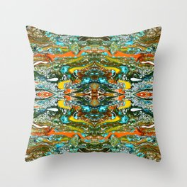 abstract shapes 12 Throw Pillow