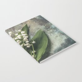Beautiful Lily Of The Valley Notebook