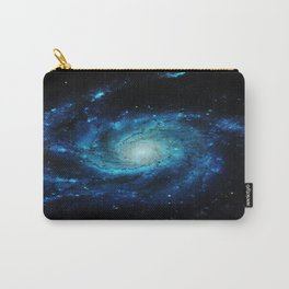 Spiral gAlaxy. Teal Ocean Blue Carry-All Pouch