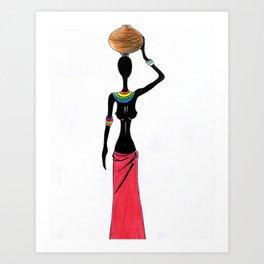Mandea  Art Print