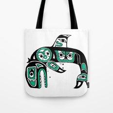 Native American Orca Tote Bag