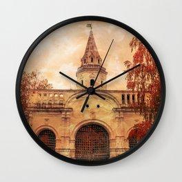 Season of Fire part II Wall Clock