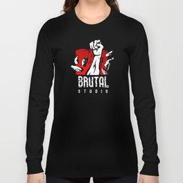 Brutal Studio Logo Long Sleeve T-shirt