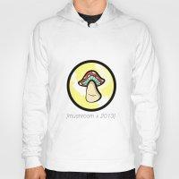 mushroom Hoodies featuring Mushroom by Marylou Aquino
