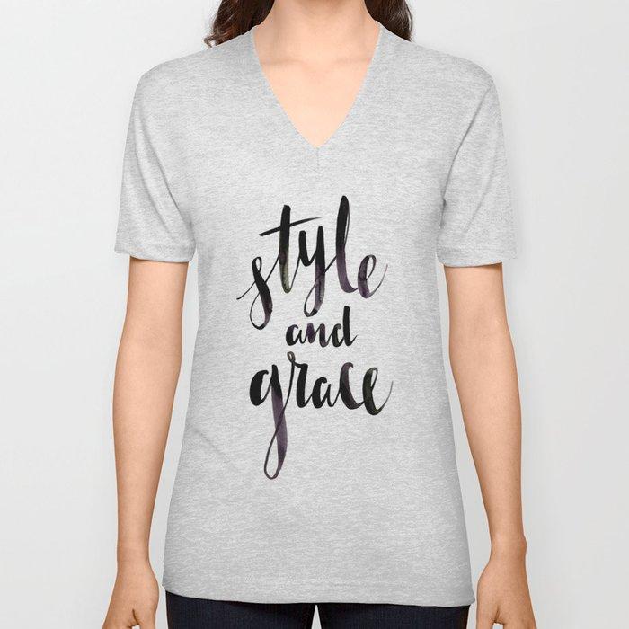Style and Grace Unisex V-Neck