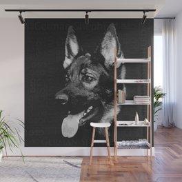 German Shepherd Dog - GSD Wall Mural