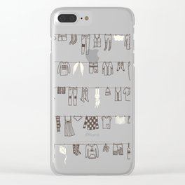 One Fine Day Clear iPhone Case