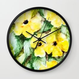 Black Eyed Suzana Wall Clock